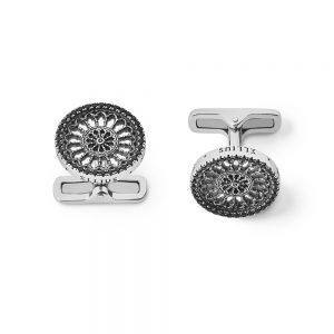 St. Maria Assunta Como Rose Window Cufflinks