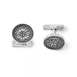 Cathedral Rose Window Cufflinks | Florence