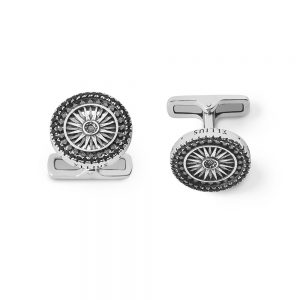 St. Paul London Rose Window Cufflinks