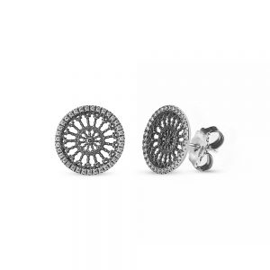 S. Maria Assunta Como Rose Window Earrings