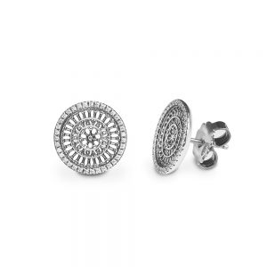 St. Rufino Assisi Rose Window Earrings