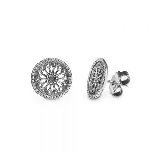 Cathedral Rose Window Earrings | Florence