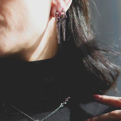 orecchini vulcano donna