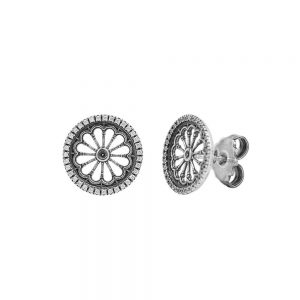 Earrings  Rose Window Maria SS. Assunta | Reggio Calabria