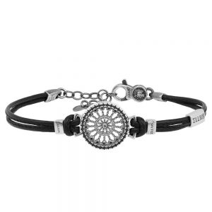 Rose window leather bracelet Santa Maria Assunta | Como