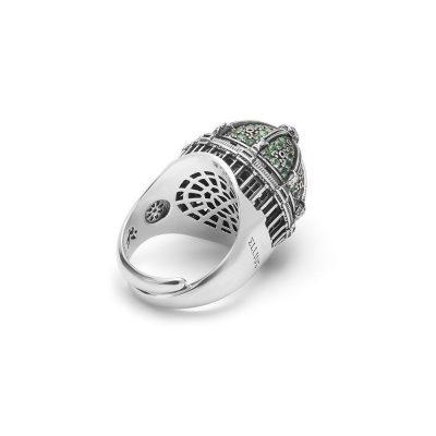 anello cupola cattedrale berlino donna gioielli argento ellius retro