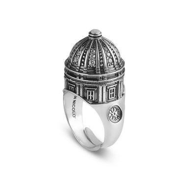 anello cupola cattedrale noto donna argento ellius