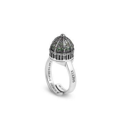anello cupola donna cattedrale berlino donna gioielli argento ellius