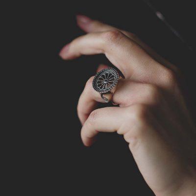 anello rosone reggio calabria donna
