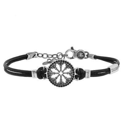 bracciale-sant-antonio-padova-ellius-gioielli-argento-pelle-uomo