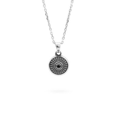 collana-scudo-pietra-nera-argento-ellius-argento-gioielli