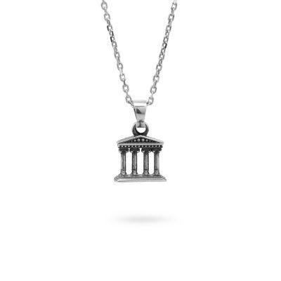 collana-tempio-romano-argento-mitologia-ellius-gioielli