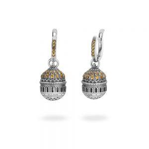 Christ the Savior Dome Earrings | Moscow