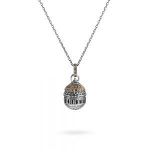 Minimal Dome Christ the Savior Necklace | Moscow