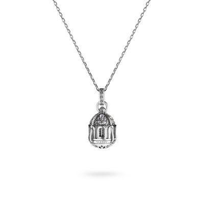 collana-cupola-chiesa-capri-donna-gioielli-argento-ellius