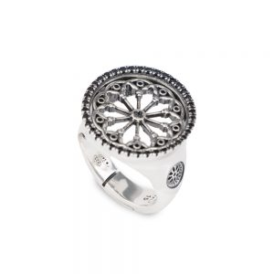 Rose Window Ring Saints Peter and Donate | Arezzo
