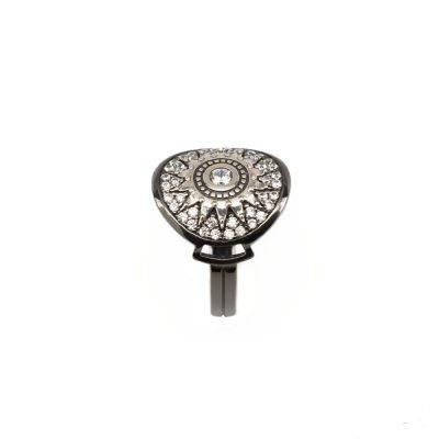 Anello Natività Donna pietre bianche gioiello argento Ellius profilo
