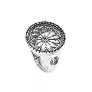 Rose Window Ring S. Donato | Pinerolo