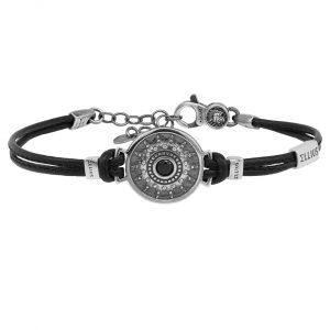 Men's Nativity Leather Bracelet