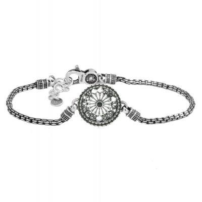 Bracciale Rosone Otranto gioielli argento Ellius
