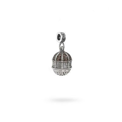 Charm Cupola Cagliari gioielli argento Ellius