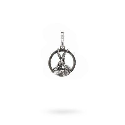 Charm Mitologia Amore e Psiche gioielli argento Ellius maglina