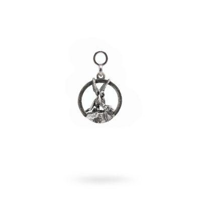 Charm Mitologia Amore e Psiche gioielli argento Ellius orecchino