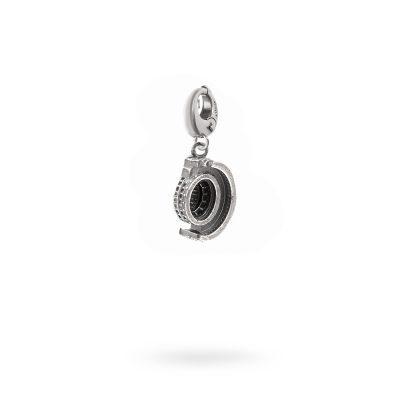 Charm Mitologia Colosseo gioielli argento Ellius moschettone