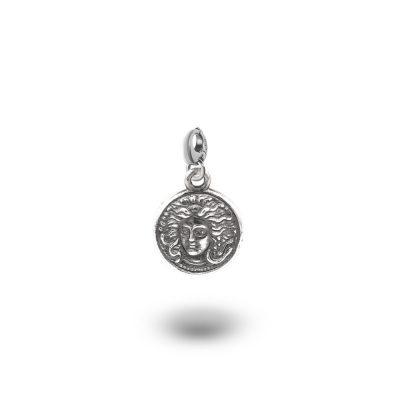 Charm Mitologia Medusa gioielli argento Ellius mo
