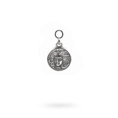 Charm Mitologia Medusa gioielli argento Ellius orecchino