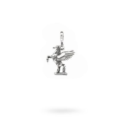 Charm Mitologia Pegaso gioielli argento Ellius maglina