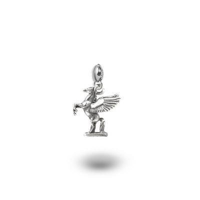 Charm Mitologia Pegaso gioielli argento Ellius moschettone