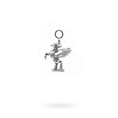 Charm Mitologia Pegaso gioielli argento Ellius orecchino