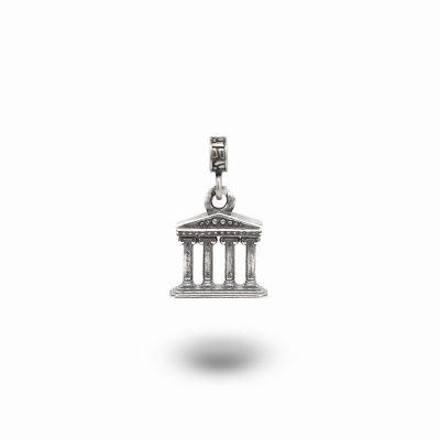 Charm Mitologia Tempio gioielli argento Ellius