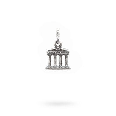 Charm Mitologia Tempio gioielli argento Ellius maglina
