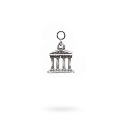 Charm Mitologia Tempio gioielli argento Ellius orecchini
