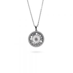 Rose Window Minimal Necklace S. M. Annunziata | Otranto
