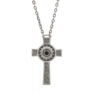 Men's Nativity Cross Necklace