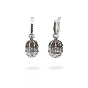 Dome earrings S. Maria Assunta | Cagliari
