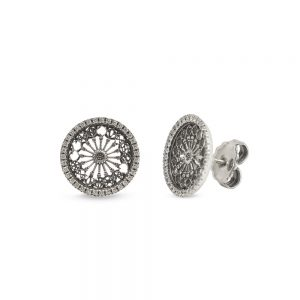 Earrings Rose Window S. M. Annunziata | Otranto