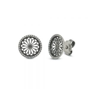 Earrings Rose Window S. Mauro | Sorgono