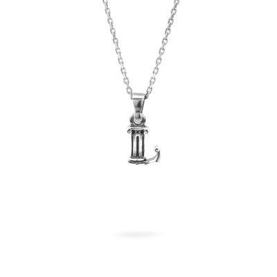 collana lettera L argento ellius gioielli