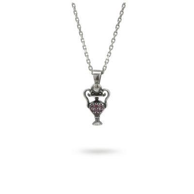 collana unguentario argento ellius gioielli mitologia