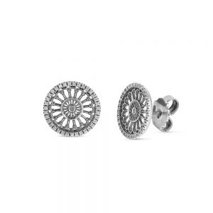 Earrings Rose window earrings Madonna della Bruna | Matera