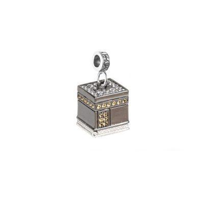 Charm Cupola KABA Mecca gioielli argento Ellius