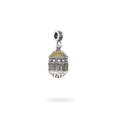 Charm Cupola Santuario Tindari Messina gioielli argento Ellius