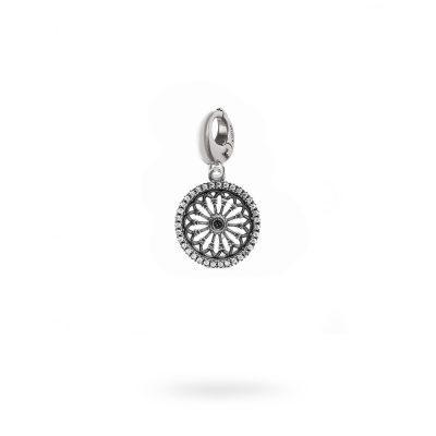 Charm Rosone Santa Maria Assunta Modena gioielli argento Ellius MO
