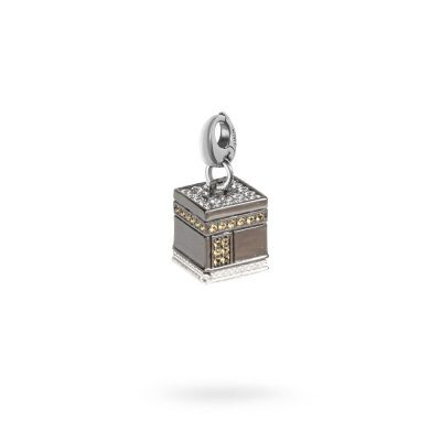 charm cupola KABA Mecca gioielli argento ellius moschettone