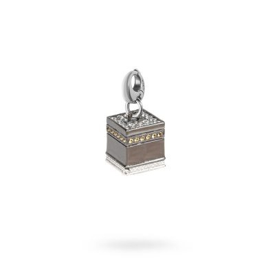 charm cupola KABA Mecca senza porta gioielli argento ellius moschettone