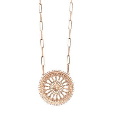 collana rosone santa maria assunta orvieto RS grande gioielli argento ellius